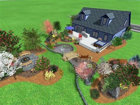 landscaping ideas for big backyards large backyard landscaping ideas pictures big front yard