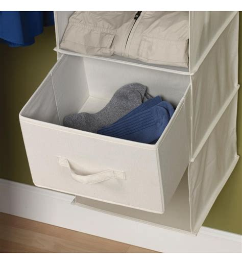 Canvas Drawer Organizers by Canvas Drawers For Sweater Organizer Set Of 2 In Hanging