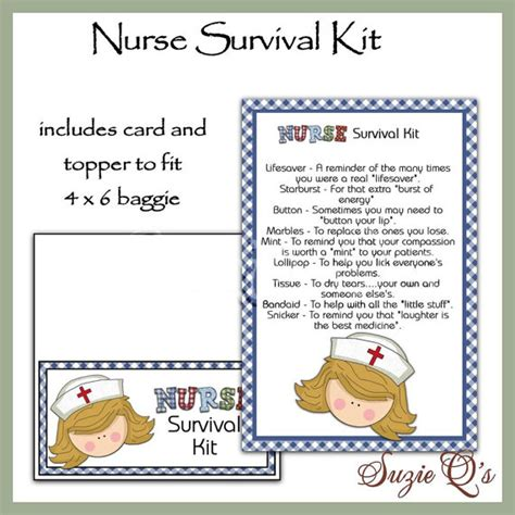 survival kit template survival kit includes topper and card by suzieqscrafts