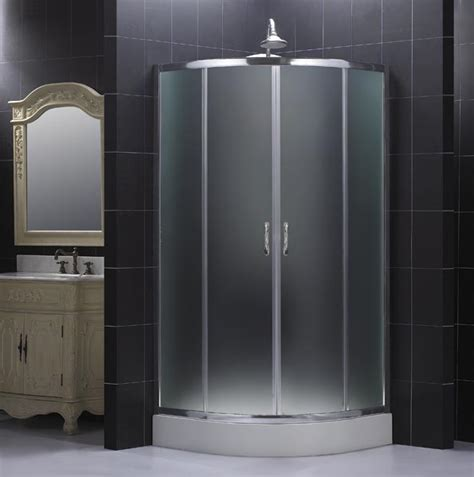 Shower Enclosure by Dreamline Showers Sector Shower Enclosure With Frosted Glass