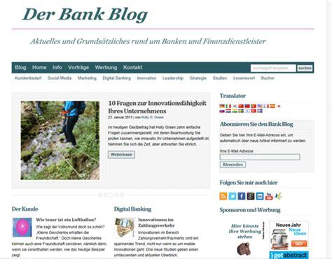 der bank der bank im neuen design