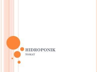 Tray Semai Kertas ppt hidroponik powerpoint presentation id 5058634