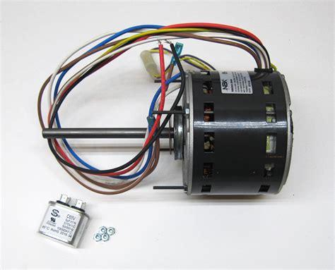 1 3 hp fan motor furnace air handler blower motor 1 3 hp 1075 rpm 230 volt