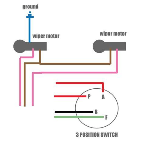 wiper motor wiring diagram wiring diagram schemes