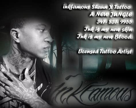 inkfamous tattoo inkfamous shaunx