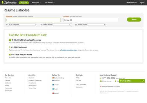 Ziprecruiter Resume Format Ziprecruiter Resume Database Resume Ideas