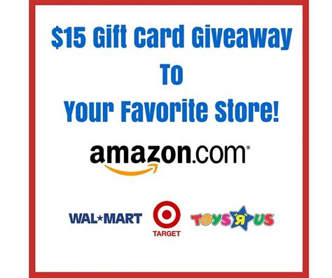 15 Amazon Gift Card - enter to win a 15 amazon gift card plus a ton of other cool stuff i don t have