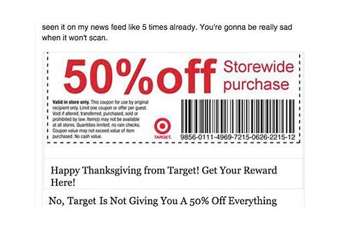 target coupons not printing correctly