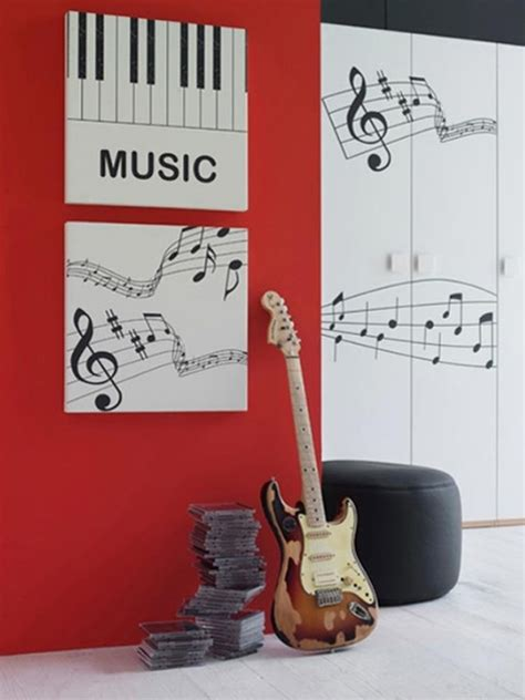 music decorations for bedroom inspiring music bedroom decorating ideas