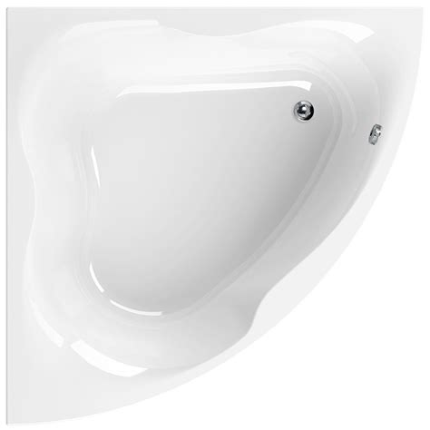 bathtub 1400mm aquaestil gloria white 1400 x 1400mm corner bath 154gloria14
