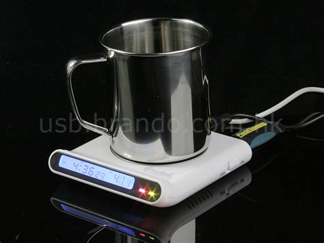 Hubbacino Usb Hub And Cup Warmer by Usb Cup Warmer With Usb Hub And Clock
