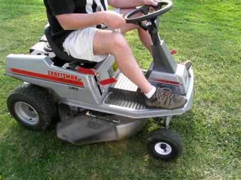 craftsman ii mulching mower for sale youtube