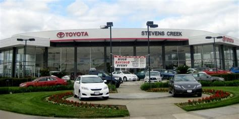 San Jose Toyota Dealership Creek Toyota West San Jose San Jose Ca