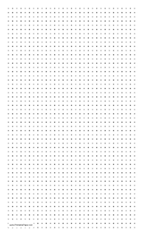 printable square dotted paper printable dot paper with four dots per inch on legal sized