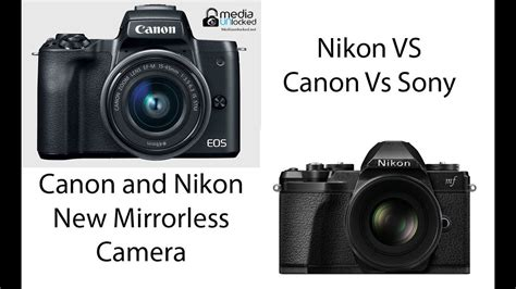 the mirrorless revolution discussion of the new canon and nikon mirrorless coming 2018