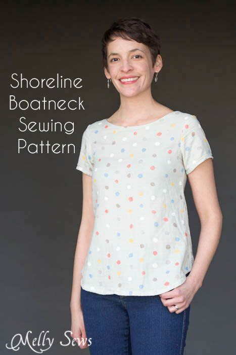boat neck shirt sewing pattern shoreline boatneck shirt sewing pattern release sewing