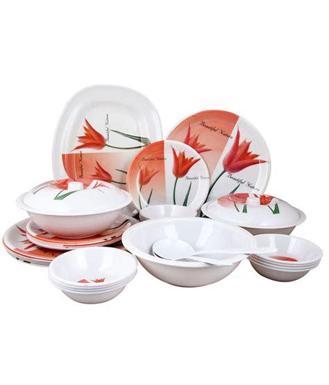 Dinner Set Nakami 37 Pcs birde pretty tulip melamine dinner set 32 pcs buy