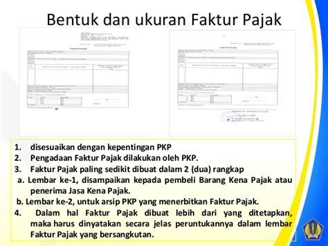 pembuatan faktur pajak tanpa npwp sosialisasi faktur pajak per 24 pj 2012 ppn