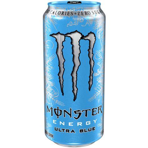 energy drink zero sugar zero calories zero sugar ultra blue energy 16 oz