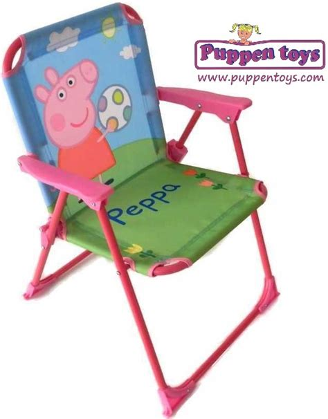 peppa pig table and chairs folding chair peppa pig arditex juguetes puppen toys