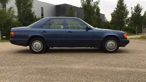 mercedes 300e 1987 mercedes w124 300e review interior exterior and