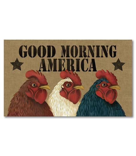 Chicken Doormat by Morning America Chickens Doormat 18 Quot X 30 Quot Custom