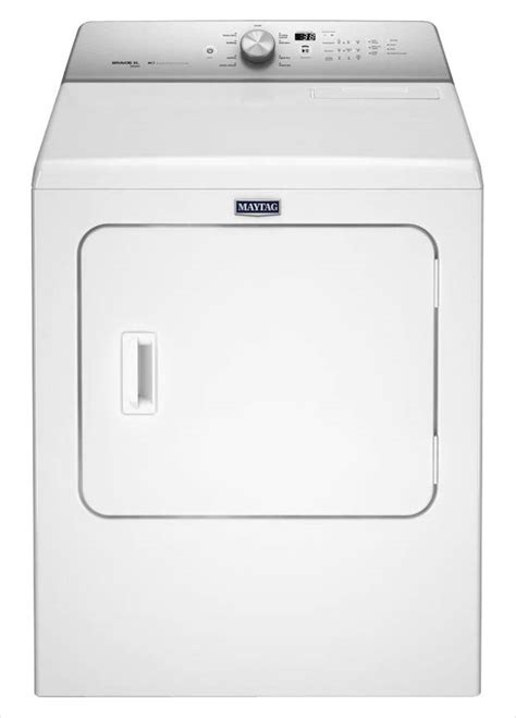 steam dryer static maytag 7 0 cu ft 240 volt white electric vented dryer
