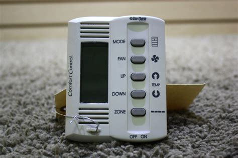 duo therm comfort control thermostat rv interiors used duo therm by dometic 5 button comfort