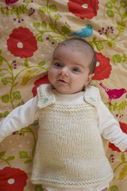 knitting patterns baby frocks baby frock knit for