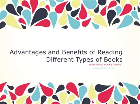 different types of picture books advantages and benefits of reading different types of books