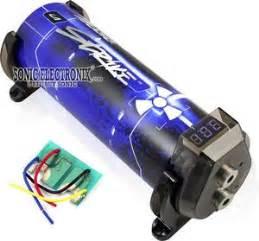 lightning audio 5 farad capacitor lightning audio lsd 1003 lsd1003 1 0 farad digital capacitor