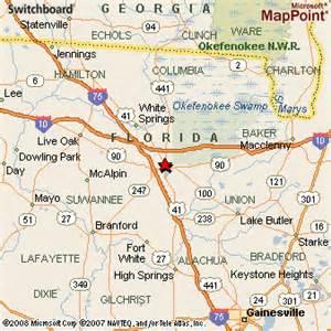 map of lake city florida lake city fl