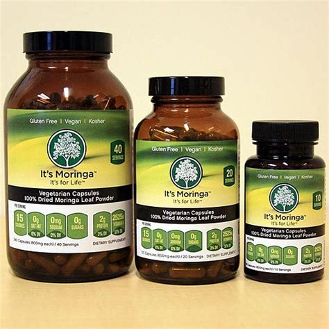 Moringa Detox Side Effects by It S Moringa Moringa Superfood Capsules From It S Moringa