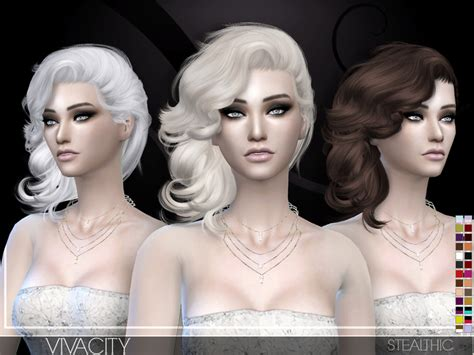 www simplicity sims 4 cc stealthic vivacity female hair