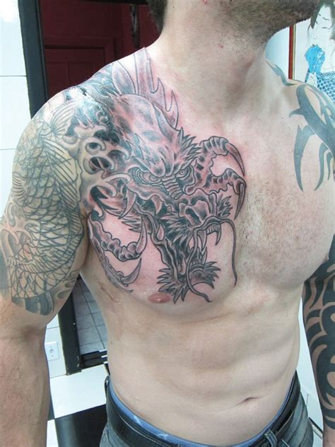dragon tattoos for men shoulder asian tattoos and designs page 234