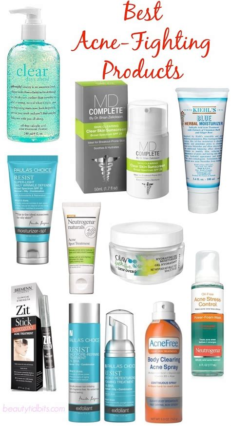 Top 8 Acne Products For by Banish Breakouts With These Acne Fighting Products