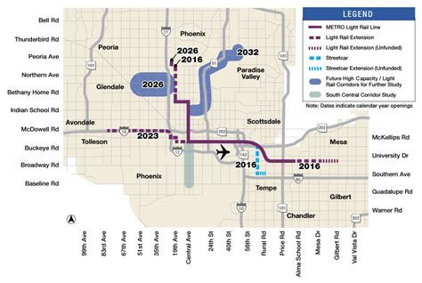 phoenix light rail schedule phoenix mesa subway map travelquaz com