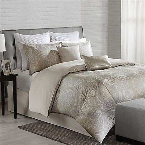 echo design juneau comforter set in neutral bed bath