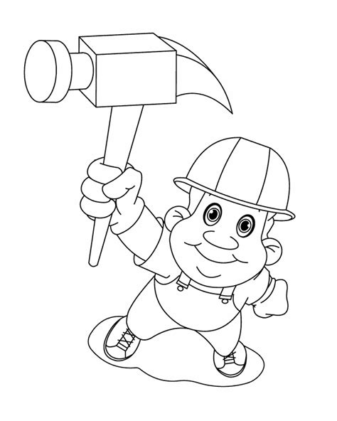 construction tools coloring pages az coloring pages