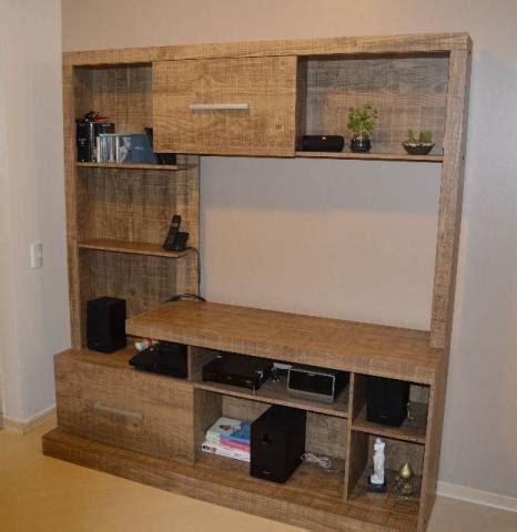 estante usada estante de madeira usada em bom estado para tv som e
