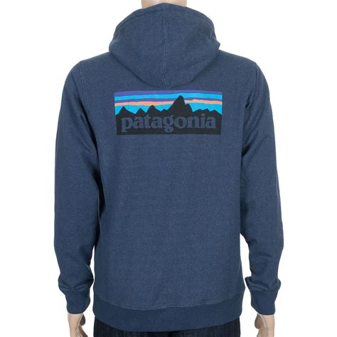 Hoodie Zipper Logo Ibm Navy patagonia p 6 logo zip hoodie navy blue at skate pharm