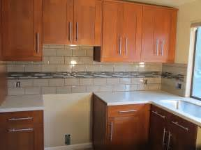 backsplash subway tiles ceramic floor gray glass tile kitchen with white cabinets