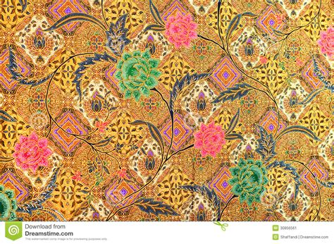 pattern  batik textile stock illustration image