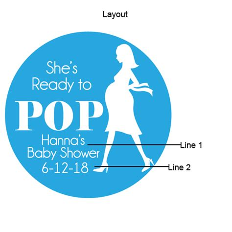 she s ready she s ready to pop personalized mini glass candy jars