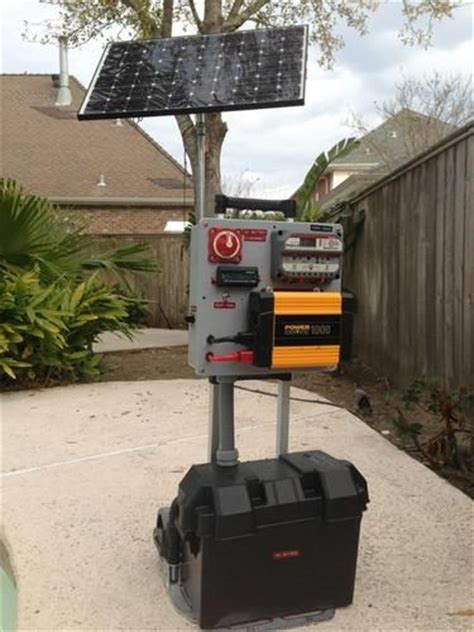 home made solar power generator home stead