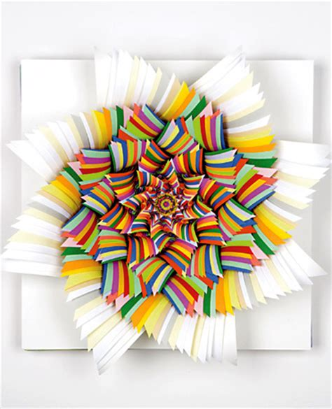 Cool Stuff You Can Make With Paper - cool construction paper kaleidoscope jen stark