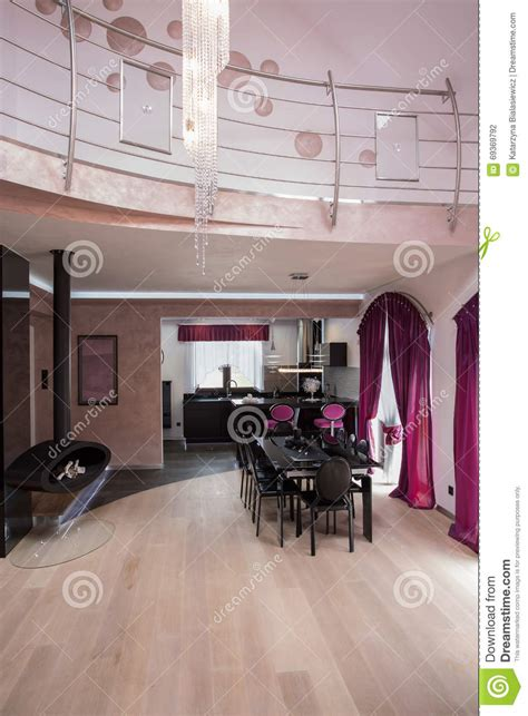fancy house interior two storey fancy house interior stock photo image 69369792