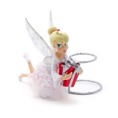 tinkerbell tree topper disney store nightmare before cast santa claus and