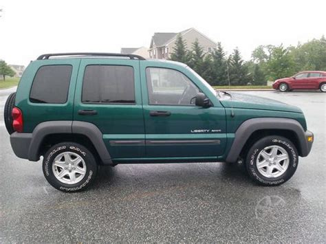03 Jeep Liberty Mpg Buy Used 03 Jeep Liberty Sport Clean Runs Great