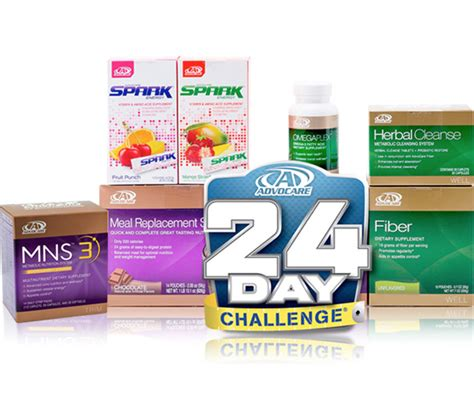 weight loss 24 day challenge advocare 24 day challenge choose your flavors